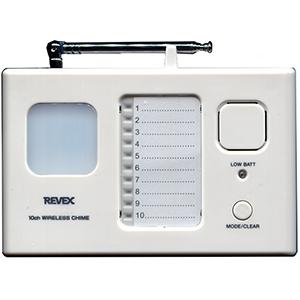 無線チャイムX50 10チャンネルチャイム QQ-30229