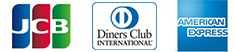 JCB,Diners Club,American Express